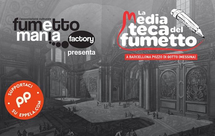 Copertina_crowdfunding_La-Mediateca-del-Fumetto_Eppela