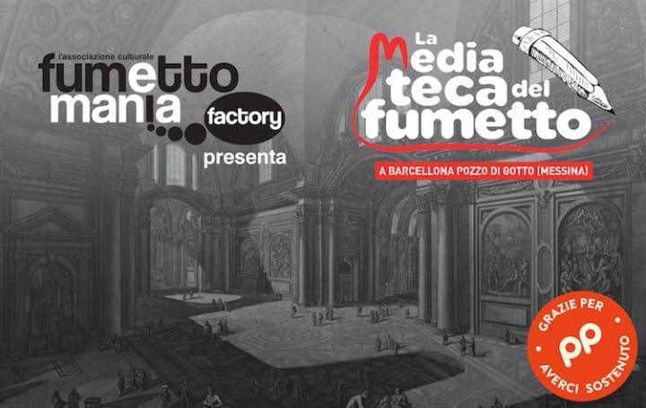 Copertina_post crowdfunding_La-Mediateca-del-Fumetto_Eppela
