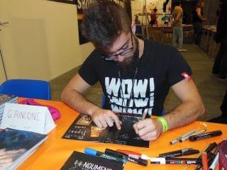 Rincione firma albi di Paperi