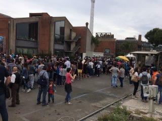 fila per entrare ad Etna comics il 5 giugno