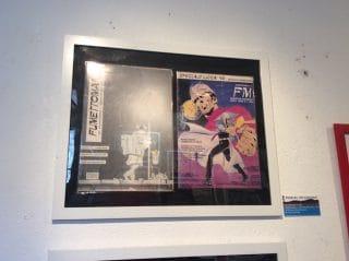 le due copertine della fanzine Fumetomania in msotra_1990 e 1991