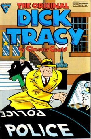 ct10-11_Copertina di un comic book di Dick Tracy (Gladstone)
