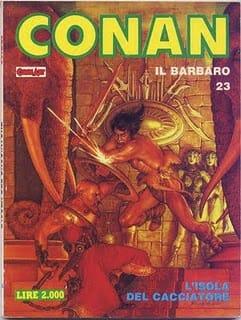 ct23_10_copertina del n, 23 della collana Conan pubblicata dall'editore Comic Art