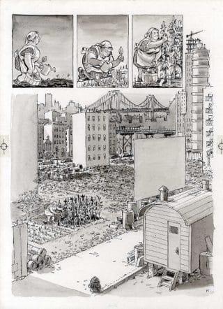 ct24-10_un'altra tavola tratta dal graphic novel: Bronx 1930