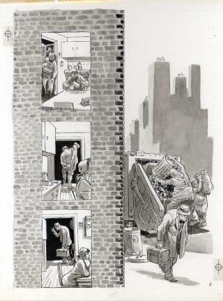 ct24_un'altra delle tavole tratte dal graphic novel: Bronx 1930