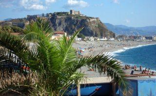 panoramica del castello di milazzo