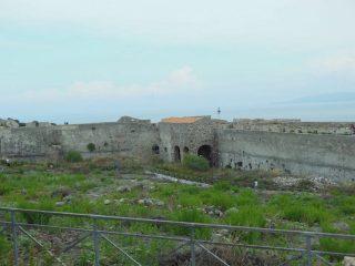 Interno della cittadella del castello