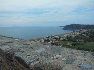 panorama sul mare dal Castello