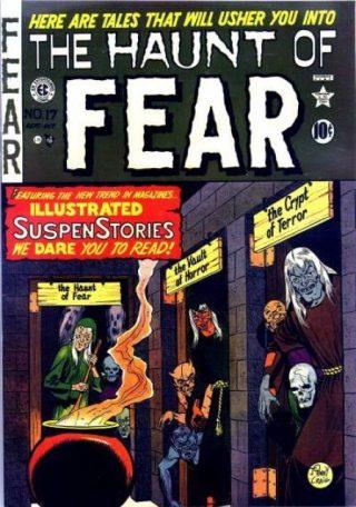 COPERTINA DEL NUMERO 17 DI THE HAUNT OF FEAR