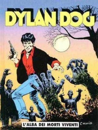 COPERTINA DEL PRIMO NUMERO DI DYLAN DOG