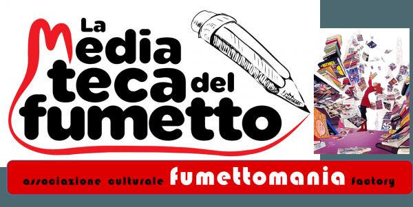 Testata della versione del sito di Fumettomania dal 2016 al 2019