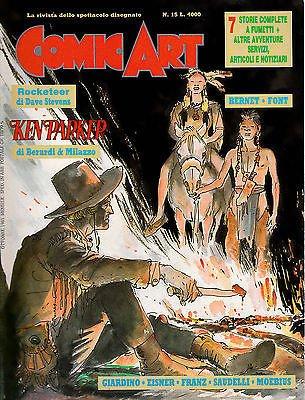 Copertina della rivista COMIC-ART-RIVISTA-n°-15-con-KEN-PARKER