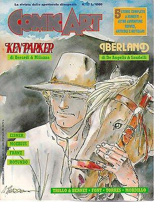 copertina della rivista COMIC-ART-RIVISTA-n°-17-con-KEN-PARKER