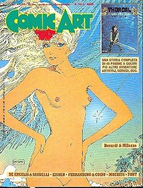Copertina della rivista Comic Art n. 20 dedicata a Moebius