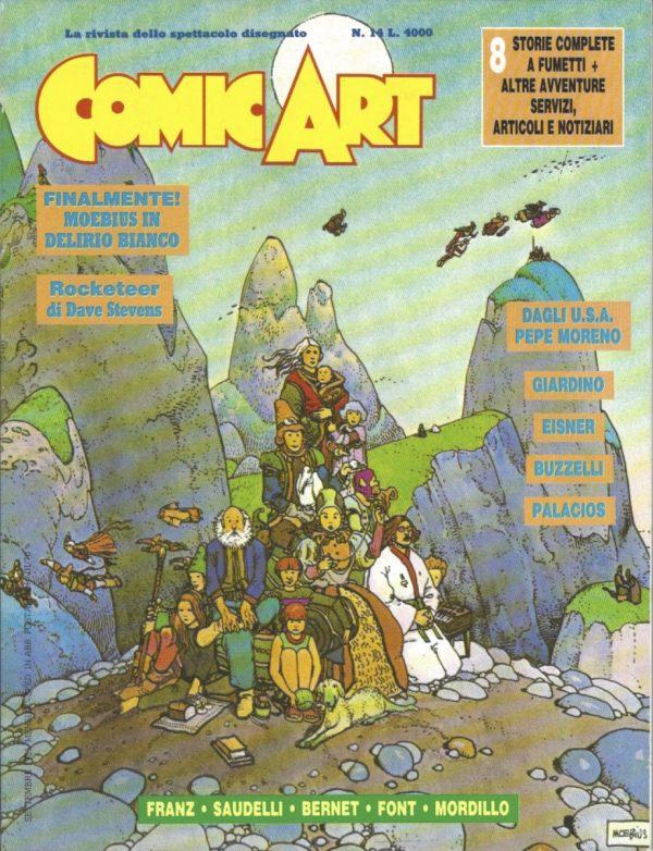 Copertina della rivista Comic Art n. 14