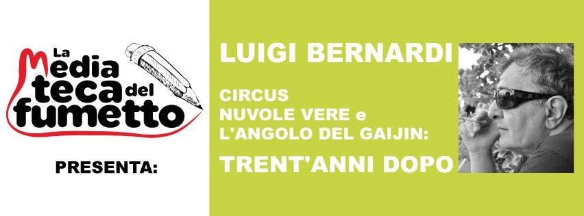 Banner del progetto Luigi Bernardi: Circus, Nuvole Vere e Parole di Gaijin