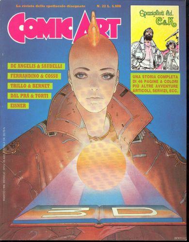 Copertina della rivista Comic Art n. 22
