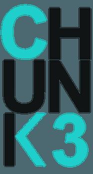 banner di Chunk3 ( l'open call dedicato agli artisti under 35).