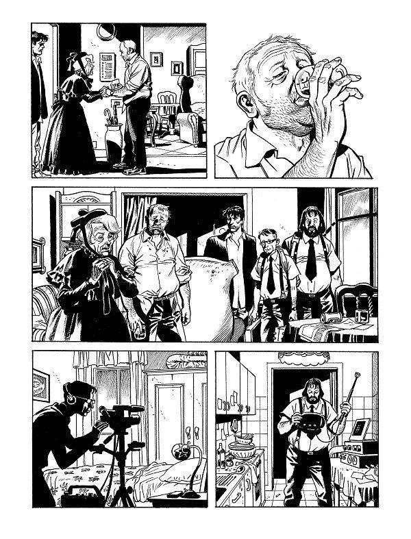 Pagina estratta  dall'albo n. 362 di Dylan Dog
