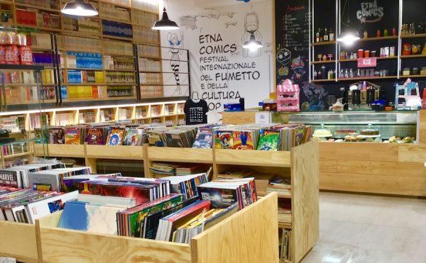 Foto 1 del Comicshop-Coffeehouse ufficiale di Etna comics