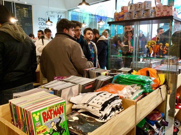 Foto 7 del Comicshop-Coffeehouse ufficiale di Etna comics