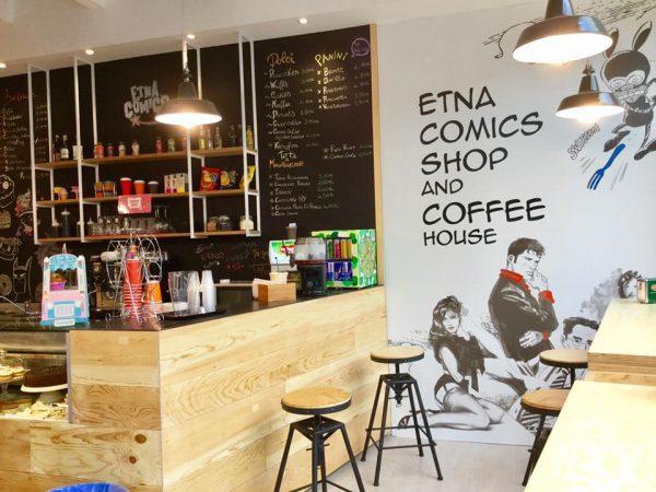 Foto 4 del Comicshop-Coffeehouse ufficiale di Etna comics