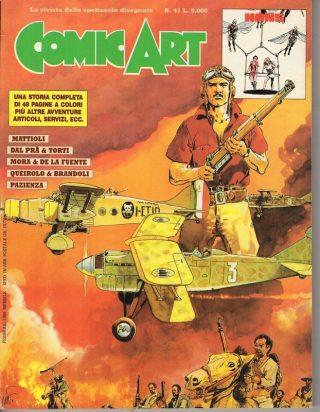Copertina della rivista Comic Art n. 41