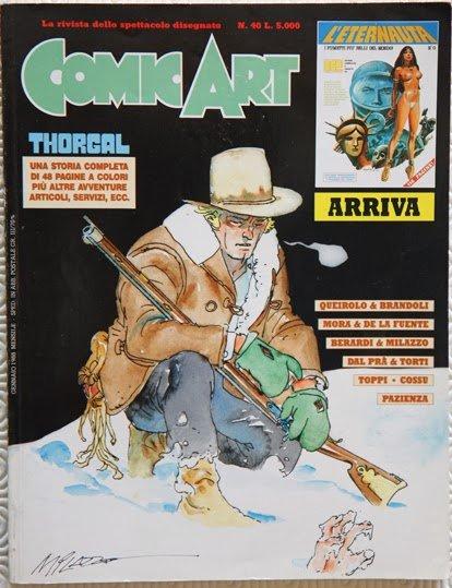 copertina della rivista Comic Art n. 40