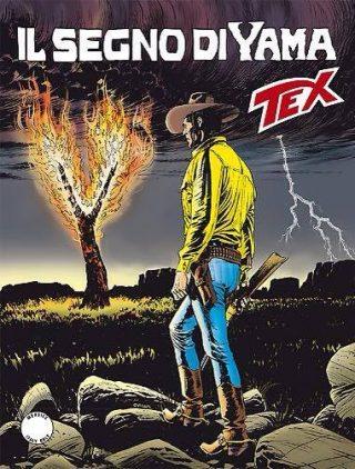 copertina dell'albo n. 673 di TEX: IL SEGNO DI YAMA