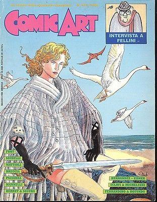 Copertina della rivista Comic Art n. 44