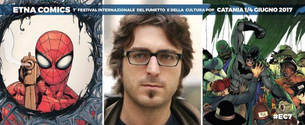 Banner di EtnaComics dedicato a Giuseppe Camuncoli