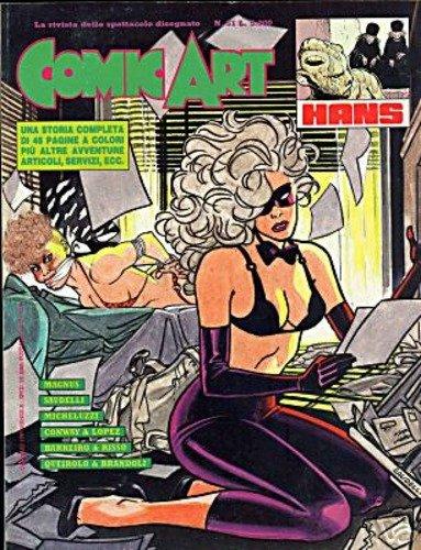 Copertina della rivista Comic Art n. 51