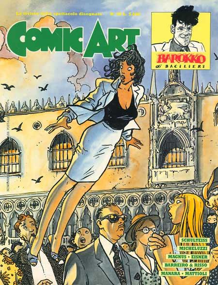 Copertina della rivista Comic Art n. 49