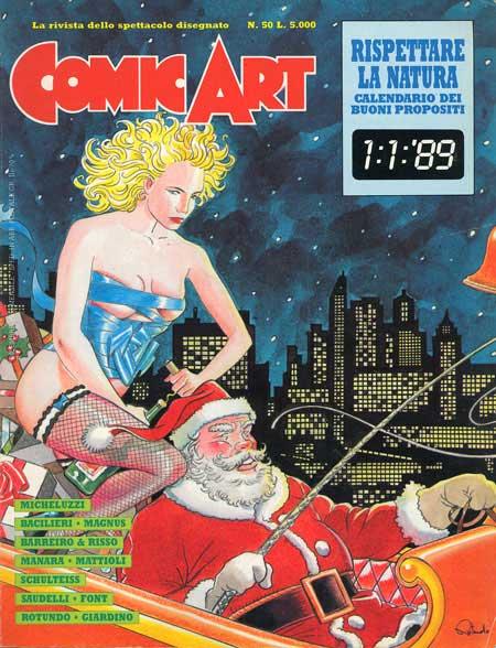 Copertina della rivista Comic Art n. 50