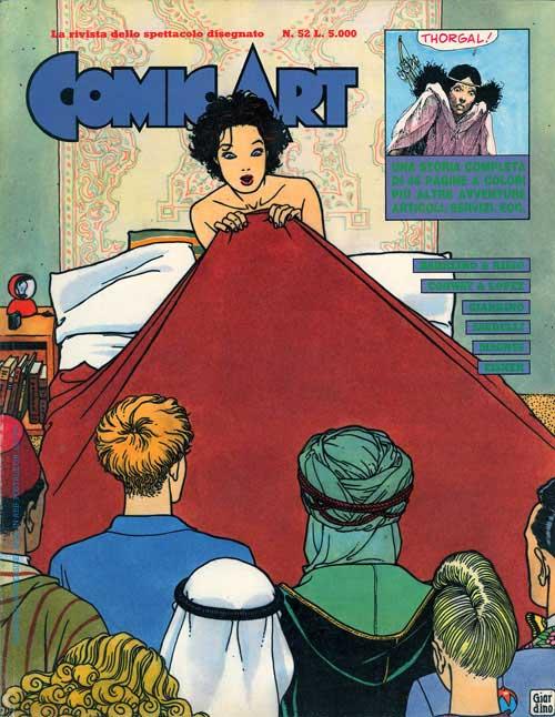 Copertina della rivista Comic Art n. 52