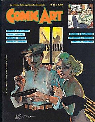 Copertina della rivista Comic Art n. 53