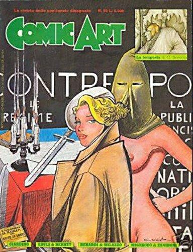Copertina della rivista Comic Art n. 59