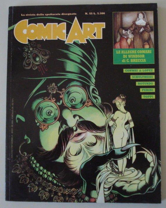 Copertina della rivista Comic Art n. 55