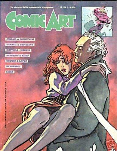 Copertina della rivista Comic Art n. 54