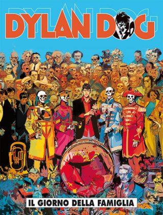 Copertina dell'albo DYLAN DOG n. 366 - IL GIORNO DELLA FAMIGLIA