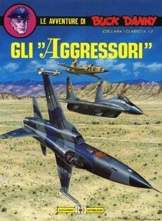 """Copertina de """"Gli Agggressori"""", pubblicato da Alessandro Editore."""
