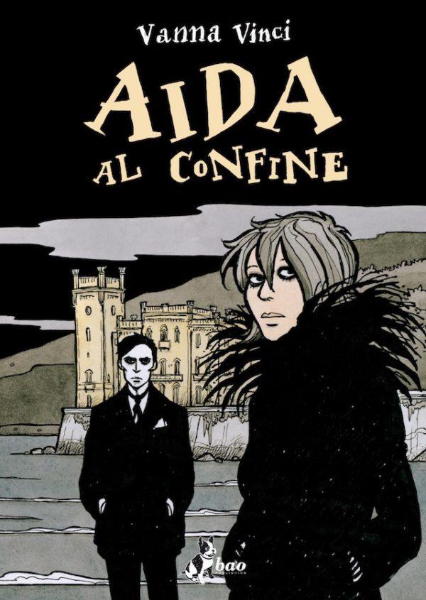 """Copertina del romanzo a fumetti """"Aidf al confine"""" di Vanna Vinci"""
