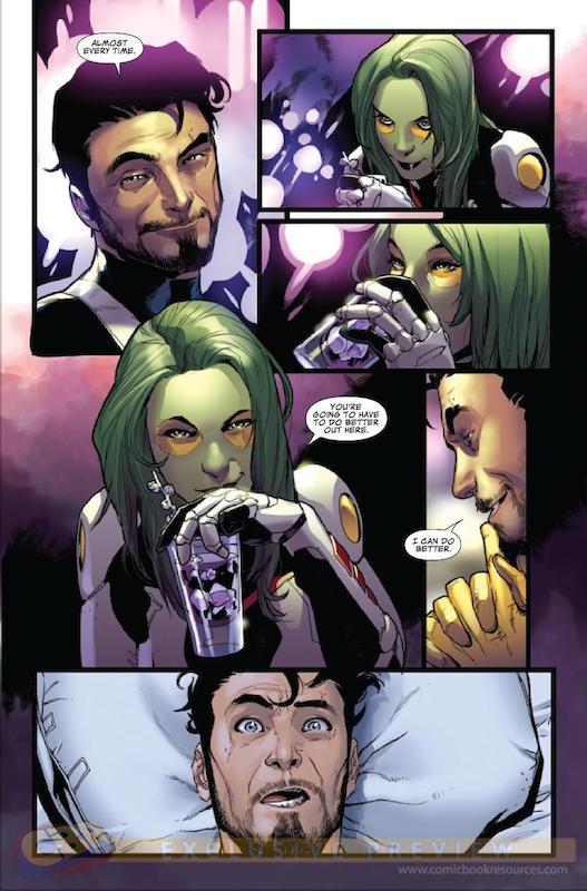 guardians-of-the-galaxy tavola a fumetti