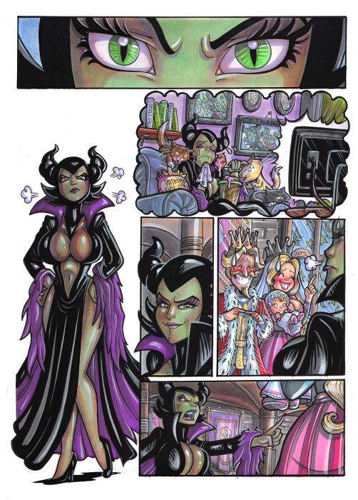 Sexy Tales 3:tav03, colore A4 di Elena Mirulla