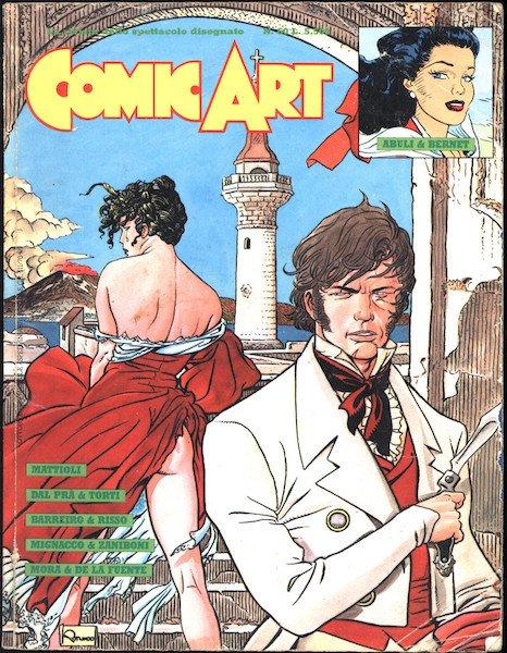 Copertina del n. 60 della rivista comic art (1989) © degli aventi diritti