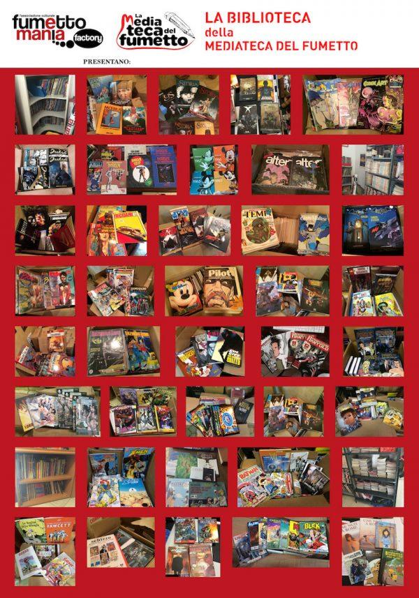 Nuovo poster con una galleria fotografica delle varie donazioni ricevute.