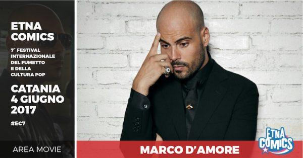 Banner di EtnaComics 2017 dedicato a MaArco d'Amore