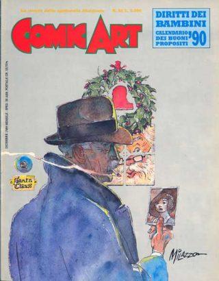 Copertina della rivista Comic Art n. 62