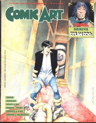 Copertina della rivista Comic Art n. 63