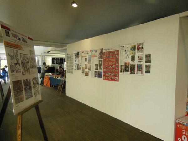 il corridoio dedicato ai fumetti